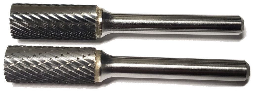 carbide bur cut