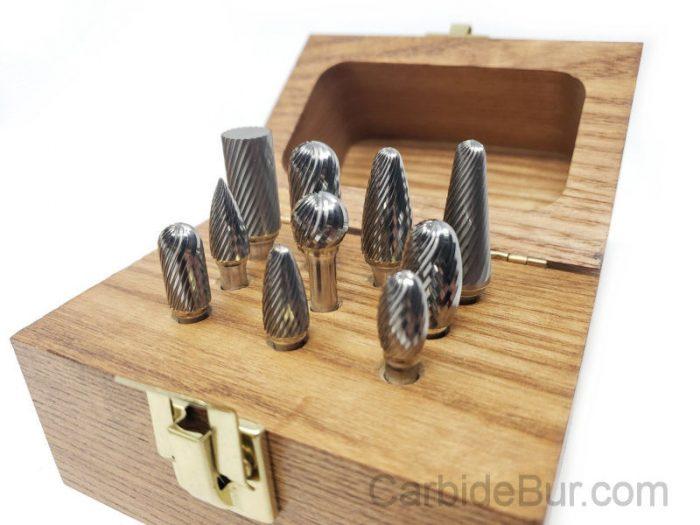 carbide bur set