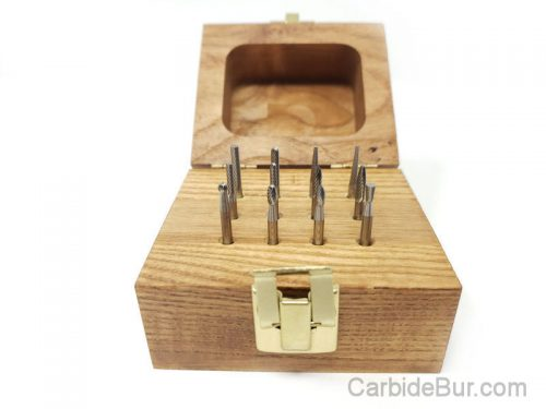 Set 2 Carbide Bur Die Grinder Bit